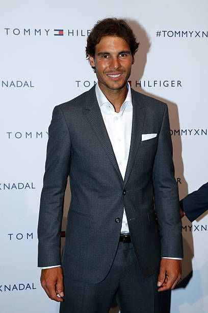 Rafael Nadal In Suit Rafael Nadal Best Tennis Rackets Tennis Players