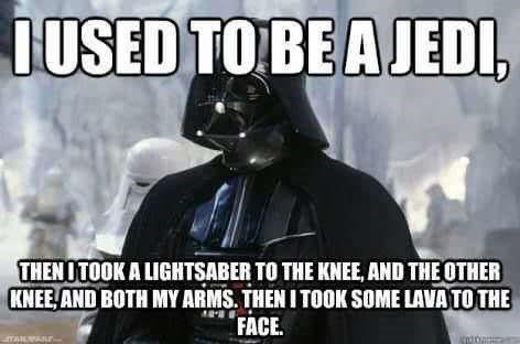 22 Hilarious Dank Star Wars Prequel Memes Star Wars Memes Star Wars Luke Skywalker Star Wars Humor