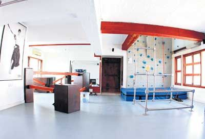 Akshay Kumars Personal Parkour Gym