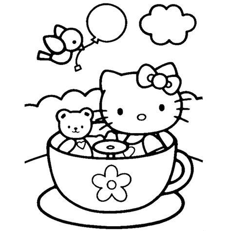 Epingle Par Julie Heffelfinger Sur Puzzles Coloriage Hello Kitty