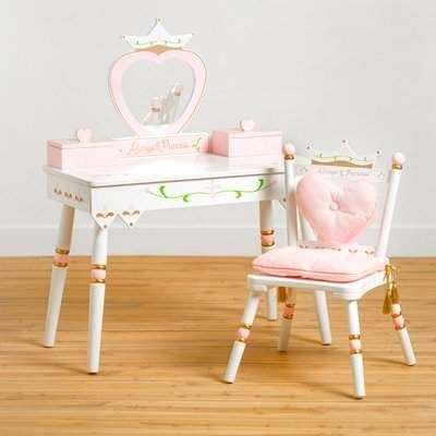 Wildkin Vanity Set With Mirror Wildkin Kids Vanity Kids Vanity Set Kids Piano