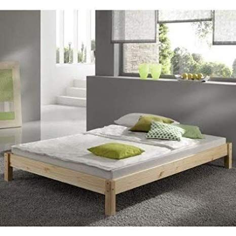 6ft Studio Bed Wooden Frame Pine Super Kingsize Amazon Co Uk