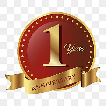 1st Anniversary Badge Icon Badge Clipart Badge Icons Anniversary Png And Vector With Transparent Background For Free Download Badge Icon Anniversary Logo Anniversary