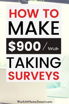 How To Make Money Doing Surveys (Over $500/Mo)