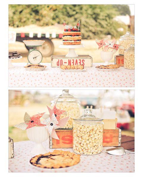 sweet lulu: A County Fair Birthday - idea for Allora's first birthday.