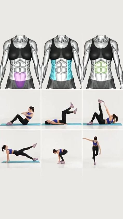 Tone your abs with these exercises!