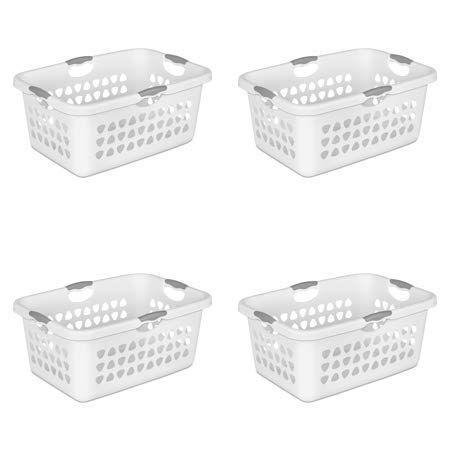 Sterilite 2 Bushel Laundry Basket White 4 Pack Laundry Basket Sterilite Laundry