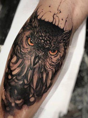 Resultado De Imagen Para Tatuajes De Buhos Para Hombres En La Espalda Picture Tattoos Tattoos Animal Tattoo