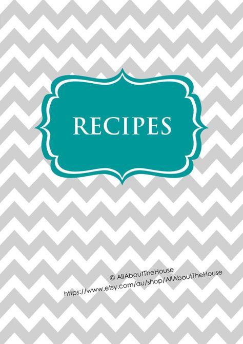 Editable Recipe Binder Printables Recipe Sheet Recipe Card Recipes