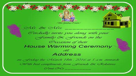 Image Result For Invitation Card Format Kannada House