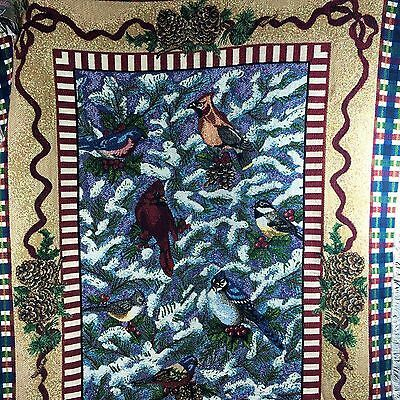 Details About Goodwin Weavers Crown Crafts Christmas Tapestry