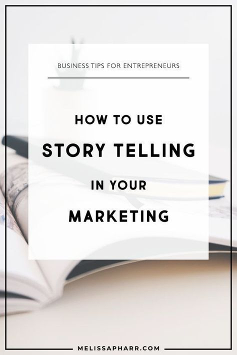 Using STORY in your Marketing (PLUS how I use my secret Ingredient: HUMOR) - Melissa Pharr