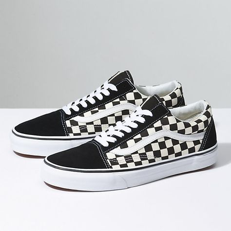 Primary Check Old Skool | Shop Classic Shoes | Vans