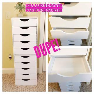 Ikea Alex 9 Drawer Dupe