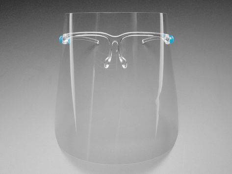 Face Shield with Glasses Frame ID: 4602 - $3.95 : Adafruit Industries, Unique  fun DIY electronics and kits