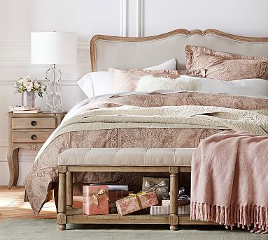 Claremont Headboard With Metal Bed Frame Headboard French