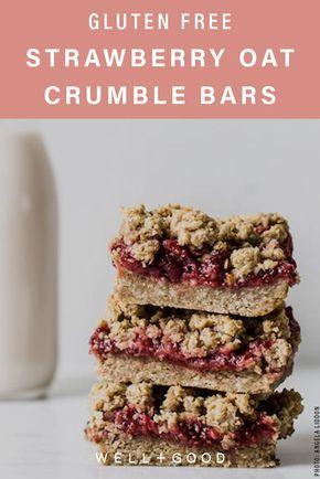 Oh She Glows Strawberry Breakfast Bar Recipe Seed Bars Recipe Healthy Breakfast Bars Recipe Bars Recipes Healthy