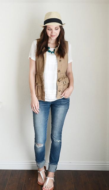 Merrick's Art // Style + Sewing for the Everyday Girl: One Piece: Five Ways -- Utility Vest