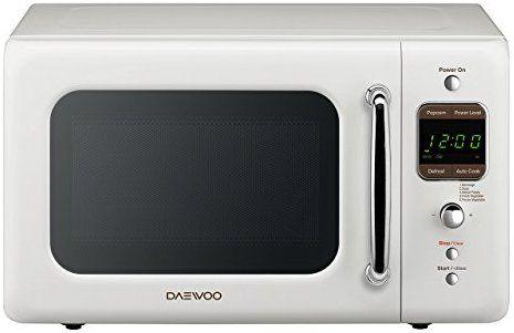 Amazon Com Daewoo Kor 7lrew Retro Countertop Microwave Oven 0 7