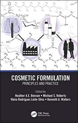 Pdf Download Cosmetic Formulation Principles And Practice By Ebook Reading Online Skin Science
