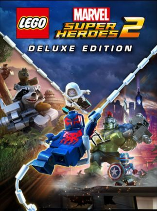 Lego Marvel Super Heroes 2 Deluxe Edition Video Game Artwork