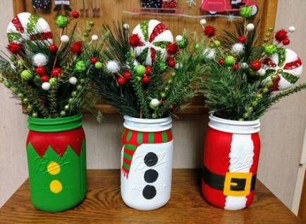 Pin By Lisa Walker On Movement Preschool Mason Jar Christmas Crafts Christmas Mason Jars Christmas Jars