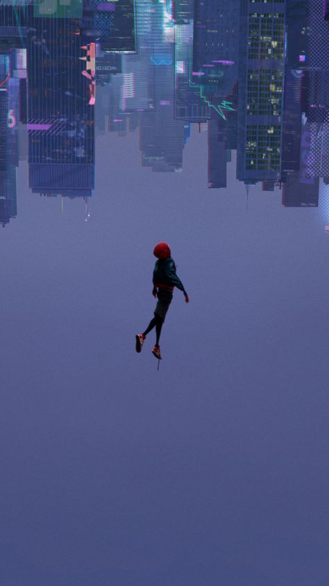 Spider-Man: Into the Spider-Verse, 2018 movie, animated movie, 720x1280 wallpaper