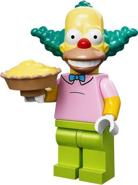 Lego Krusty The Clown Minifigure minifig NEW