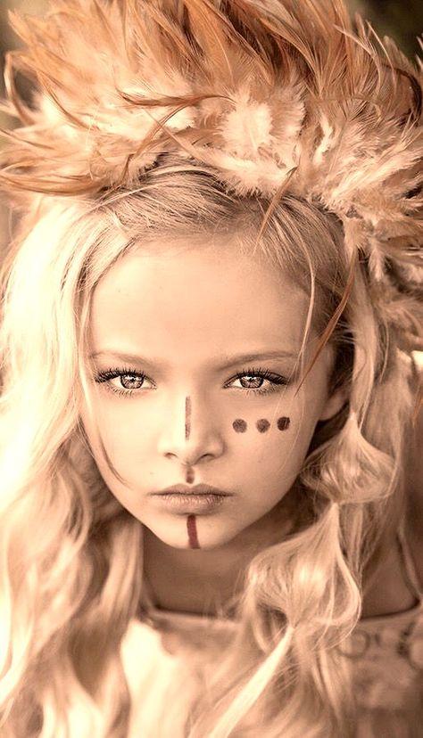 Pleiadian Child   Warrior princess, Warrior makeup, Warrior