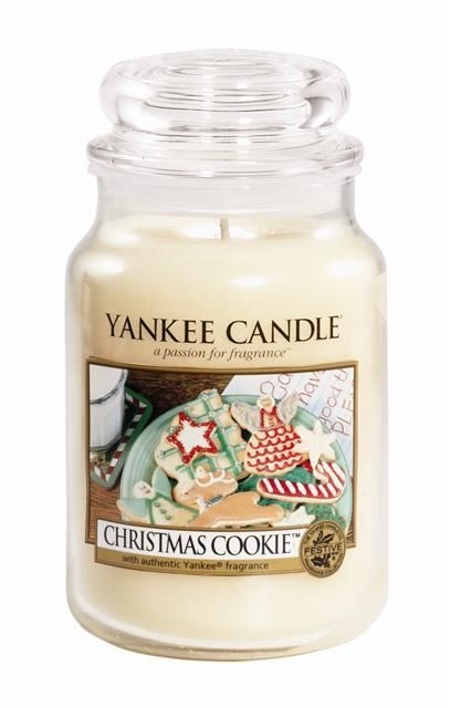 Yankee Candle Christmas Cookie Large Jar It Smells So Good In 2020 Yankee Candle Christmas Yankee Candle Scents Candles