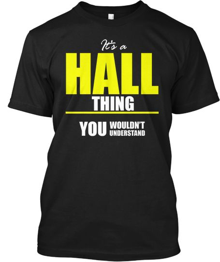 It's a HALL Thing - Limited Edition