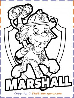Printable Paw Patrol Marshall Coloring Pages Paw Patrol Coloring Pages Paw Patrol Coloring Marshall Paw Patrol