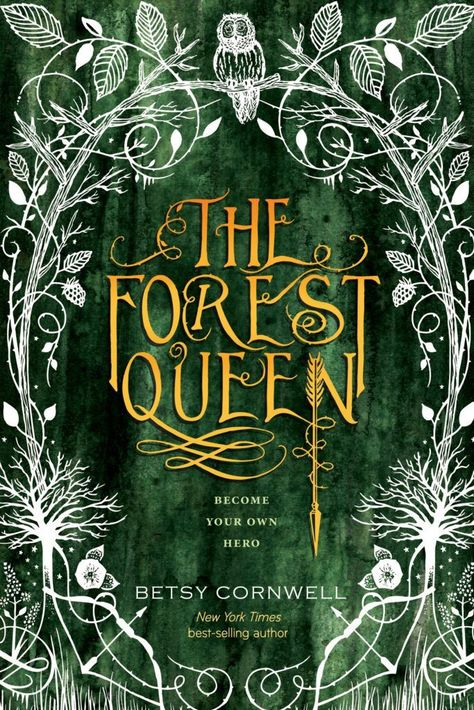 Check out the beautiful cover for Betsy Cornwell's feminist YA retelling of Robin Hood, The Forest Queen!