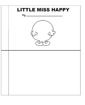 Mr Men And Little Miss Mini Books And Template By Eduscribble Teachers Pay Teachers In 2020 Little Miss Books Mini Books Books