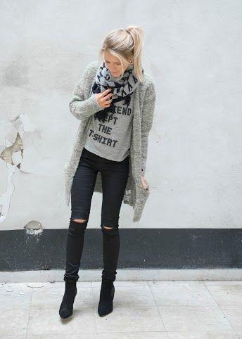 Fashion | black skinny jeans | heels