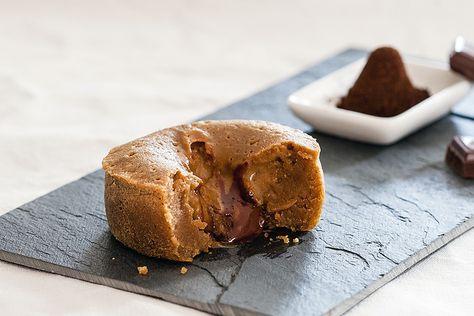 Fondant au café cœur Nutella