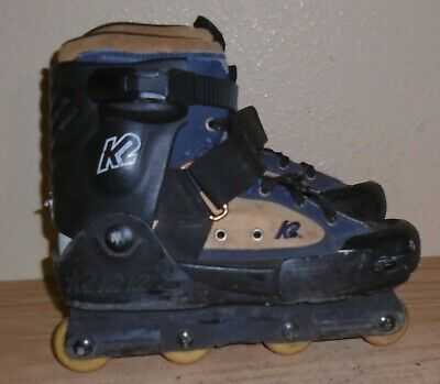 Advertisement Ebay K2 Backyard Bob Aggressive Inline Skates