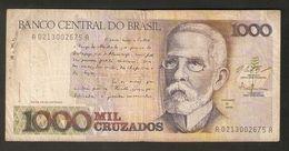 T Brazil Banco Central Do Brasil 1000 Mil Cruzados Ser A