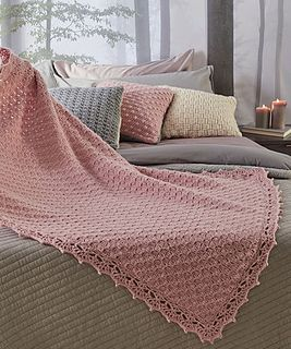 Corner-to-Corner Guest Throw pattern by Marianne Forrestal