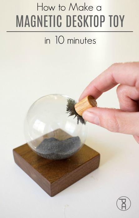 How To Make A Magnetic Desk Toy Desk Toys Office Desk Toys Desk Gifts
