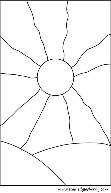 Image Result For Beginner Mosaic Patterns Printable Sunset Stained Glass Patterns Free Stained Glass Patterns Mosaic Patterns