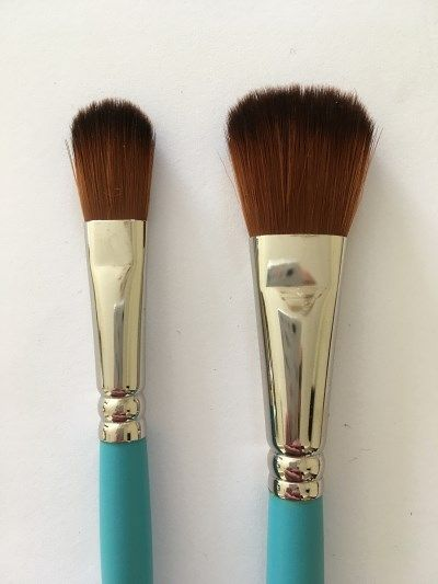 Needed Brushes With Soft Natural Bristles Or Brushes From Synthetic Hair Are Used In 2020 Oil Painting Oil Painting Tips Fine Art Painting