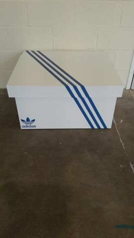 5f327654ee8d1 Adidas Boost inspired XL Giant Trainer Shoe Storage Box - Holds 12no ...