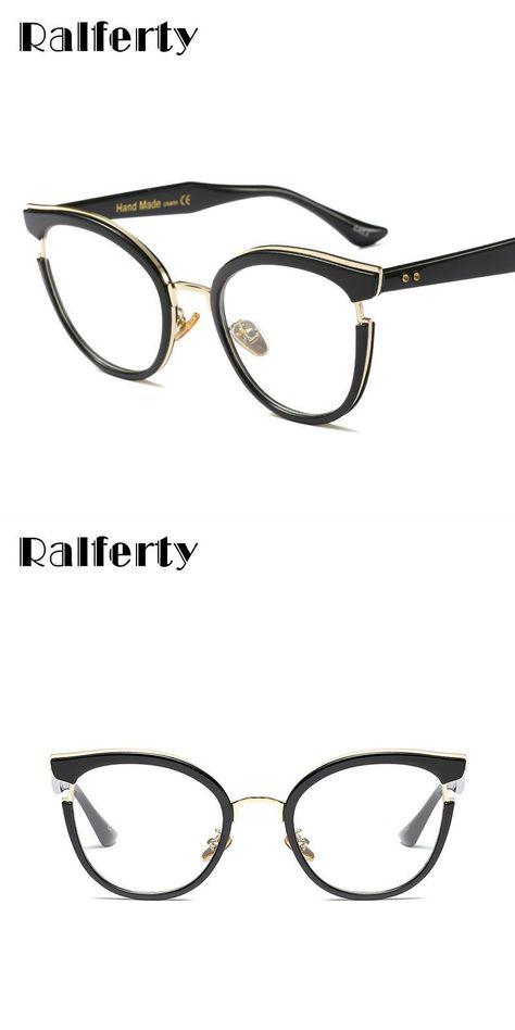 45546cd0362 Fashion ladies cat eye glasses vintage black optical eyeglasses frames  women eyewear frame oculos de grau gafas f97551  plastic  women  solid   frames ...