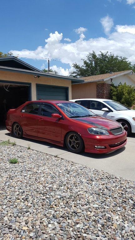 My full bolt on and tuned Corolla XRS  She's also got