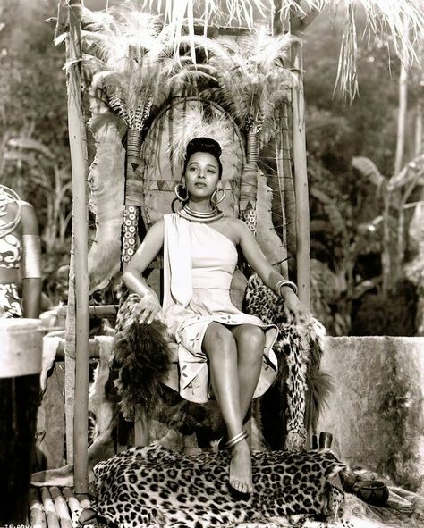 Dorothy Dandridge in Tarzan's Peril (RKO, 1951)