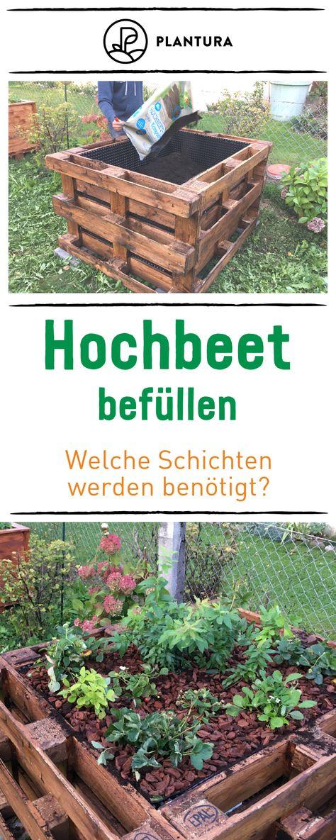 Hochbeet Befullen Tipps Zum Schichten Fullen Hochbeet Garten Ideen Und Garten