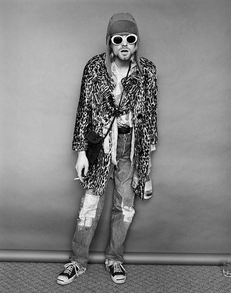 Jesse Frohman on Photographing One of Kurt Cobain's Very Last Sessions - Vogue