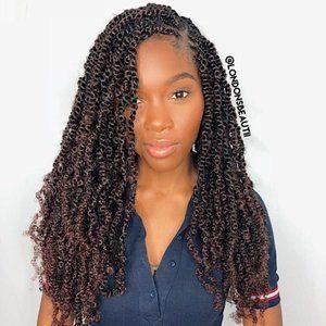 London Fluffy Twist Hair Twist Hairstyles Long Hair Styles Natural Hair Styles