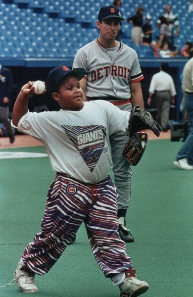 Alan Trammell Prince Fielder This Is A Kid For You All Mixed Up